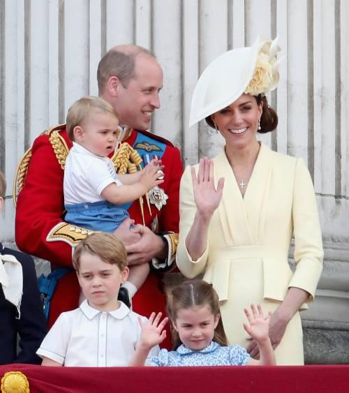 Royal Family, i Cambridge al Trooping the Colour: foto 7