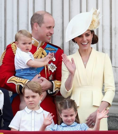 Royal Family, i Cambridge al Trooping the Colour: foto 8