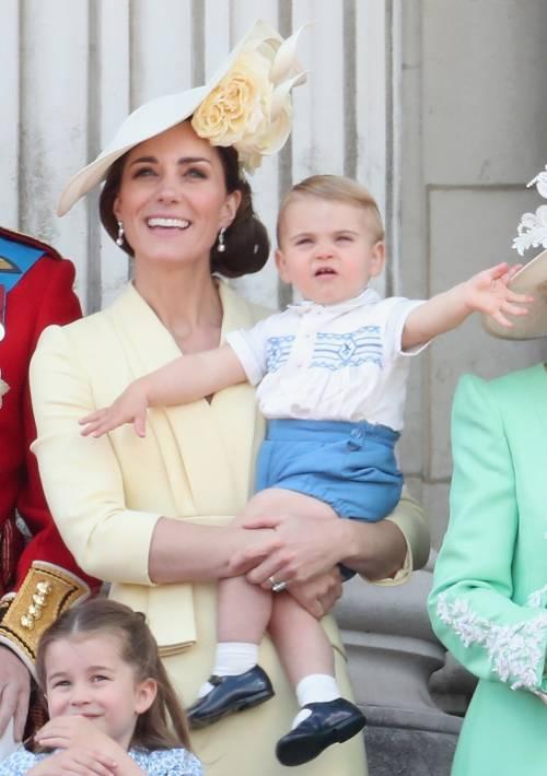 Royal Family, i Cambridge al Trooping the Colour: foto 9