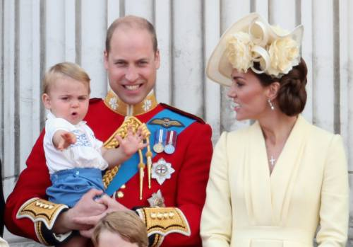 Royal Family, i Cambridge al Trooping the Colour: foto 10