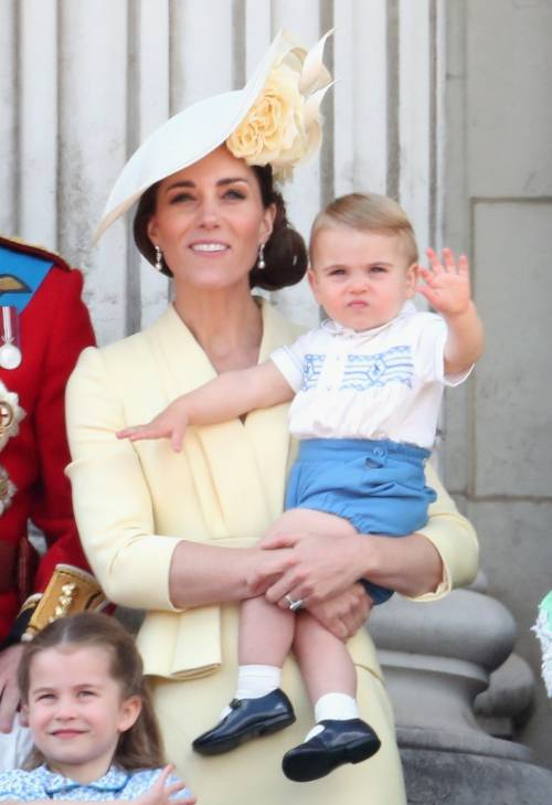 Royal Family, i Cambridge al Trooping the Colour: foto 12