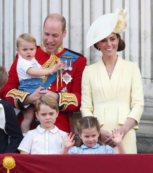 Royal Family, i Cambridge al Trooping the Colour: foto 13
