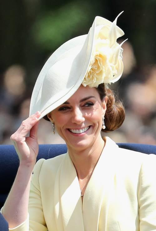 Royal Family, i Cambridge al Trooping the Colour: foto 4