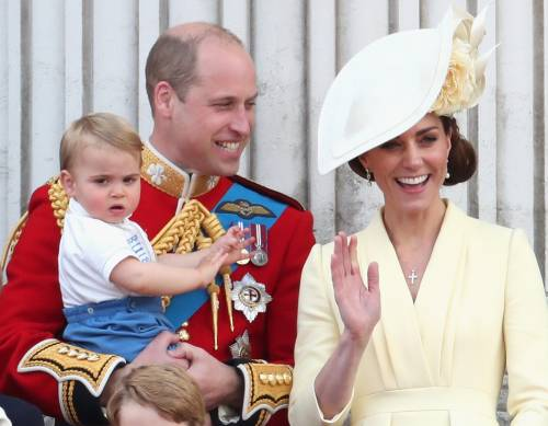 Royal Family, i Cambridge al Trooping the Colour: foto 2