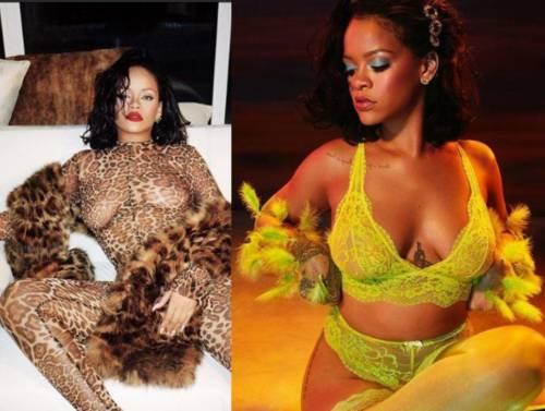 Rihanna vuole diventare mamma e sfoggia le curve: si ritira dalla musica?