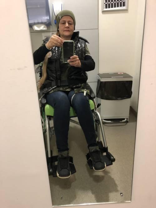 Joanne, invalida dopo il morso della zecca 7