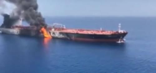 """Petroliere, gli Usa contro l'Iran """"L'attacco voluto da Teheran"""""""