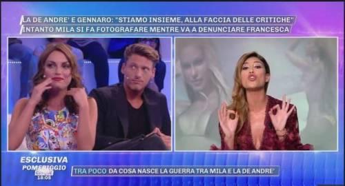 """GF, Mila Suarez attacca Francesca e Gennaro: """"Siete la coppia più brutta dell'estate"""""""