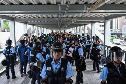 La vittoria della piazza a Hong Kong