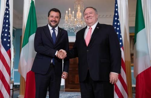 Salvini negli Usa fa il premier e salda l'asse con Trump