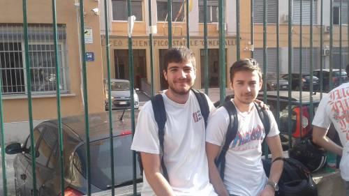 Esame di Maturità: le emozioni degli studenti di Napoli 5