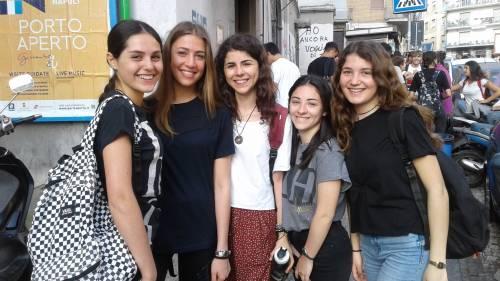 Esame di Maturità: le emozioni degli studenti di Napoli 8