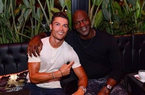 """Cristiano Ronaldo e Michael Jordan: """"Abbiamo fatto la storia"""""""