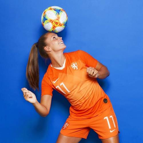 Gli scatti di Lieke Martens: una delle punte di diamante dell'Olanda femminile 5
