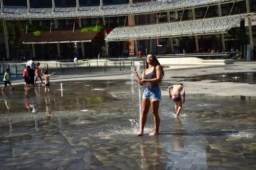 Caldo rovente a Milano e Roma: foto 2