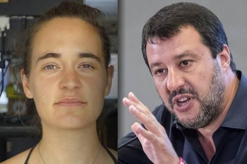 """Adesso la capitana alza il tiro: """"Io non ho tempo per Salvini"""""""