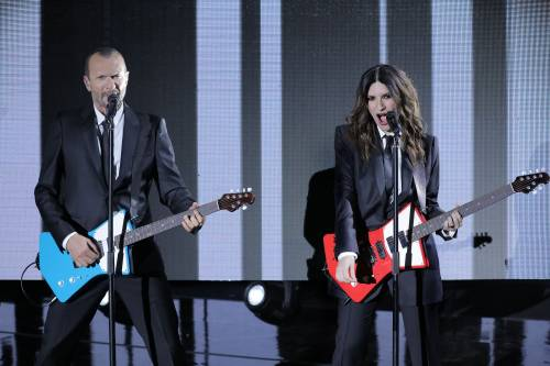 Laura Pausini e Biagio Antonacci insieme a Bari 6
