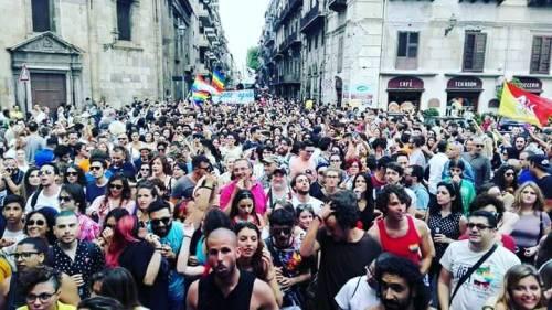 Pride Palermo: il giorno del corteo in nome antifascismo e migranti
