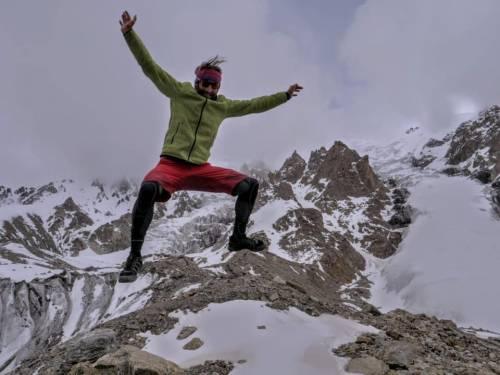"""Un torinese conquista la vetta del Nanga Parbat: """"Sono sdraiato in cima"""""""