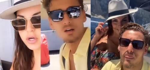 Dal Gf a Temptation Island? Francesca De André e Gennaro Lillio si rilassano a Capri
