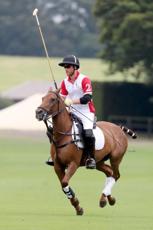 Meghan Markle e Archie alla partita di polo: foto 7