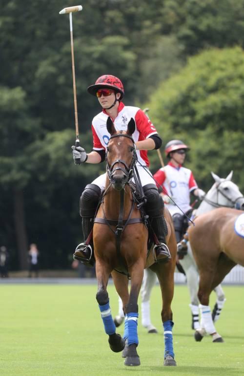 Meghan Markle e Archie alla partita di polo: foto 4
