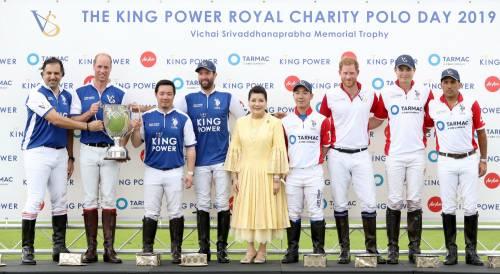Meghan Markle e Archie alla partita di polo: foto 2
