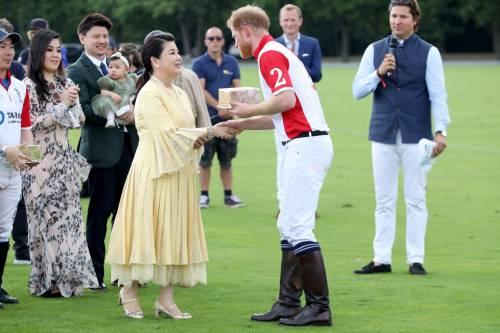 Meghan Markle e Archie alla partita di polo: foto 5