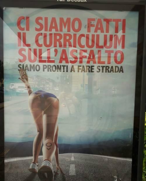 Lucca, polemiche per una pubblicità accusata di sessismo