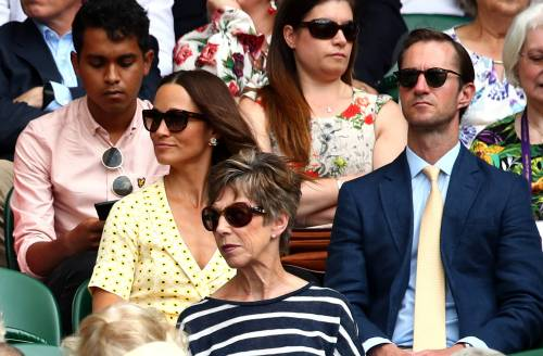 Wimbledon 2019: la semifinale piace ai vip