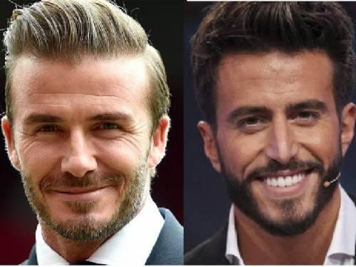 La foto di David Beckham e Marco Ferri sui social fa esultare l'ex gieffino