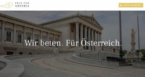 Austria, sito chiede preghiere per politici: sommerso di attacchi