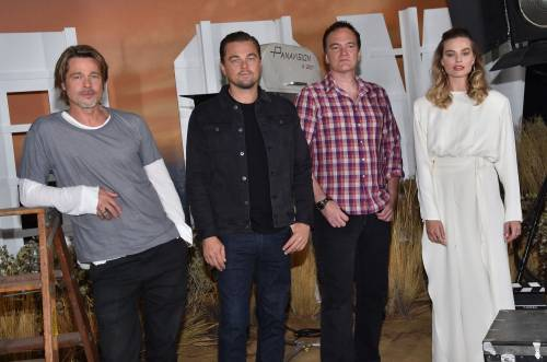 """C'era una volta a Hollywood"" il cast in foto"