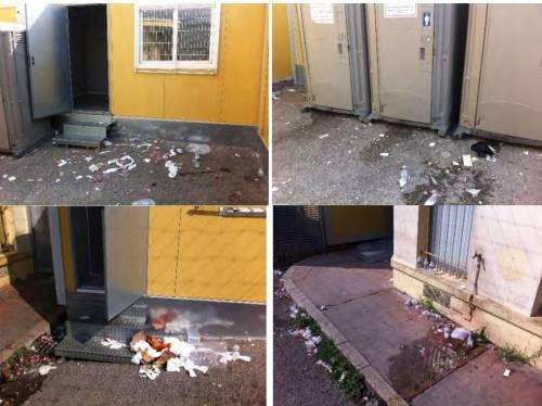 I rapporti e le foto sui container francesi per i migranti 7