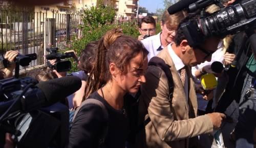 L'arrivo di Carola Rackete ad Agrigento  3