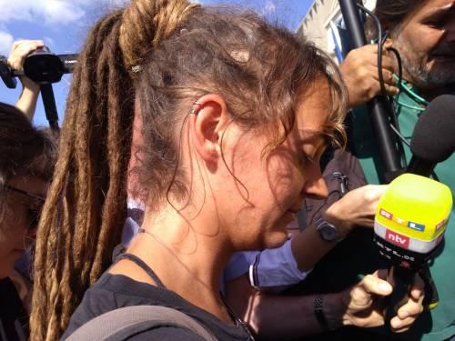 L'arrivo di Carola Rackete ad Agrigento  5