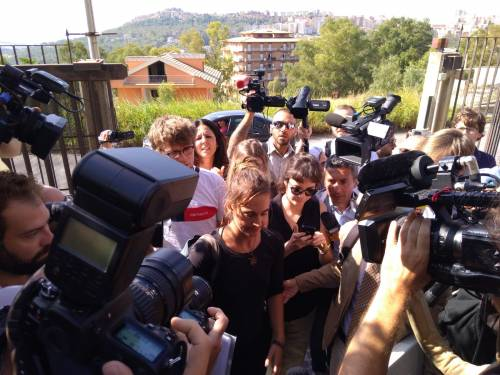 L'arrivo di Carola Rackete ad Agrigento  6