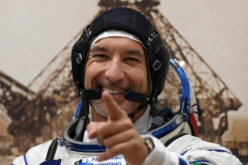 Luca Parmitano è tornato sulla Terra