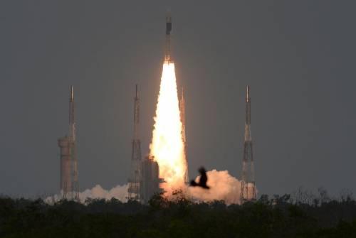 India, al via missione lunare Chandrayaan-2