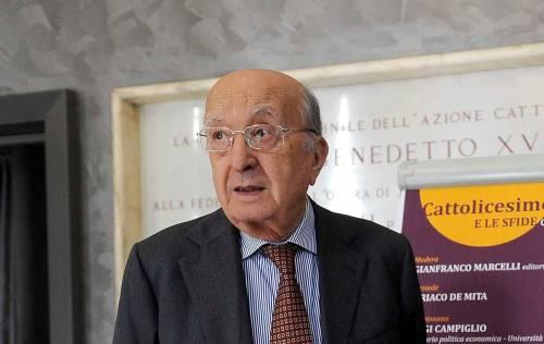 Ciriaco De Mita a 91 anni lancia un nuovo partito per le regionali