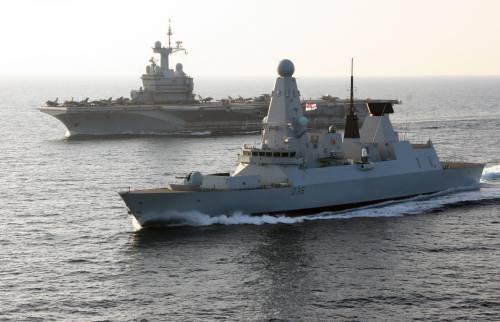 Londra adesso fa sul serio: la Marina inglese entra nel Golfo