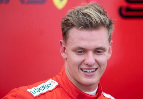 Mick Schumacher sulla Ferrari del papà: le foto più belle 2
