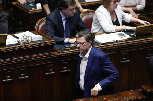"""L'ira di Giorgetti alla Camera: """"Tenete a bada i 5S o finisce male"""""""
