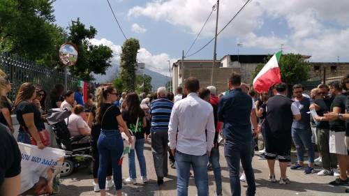 Carabiniere ucciso a Roma, l'ultimo saluto a Somma Vesuviana 9
