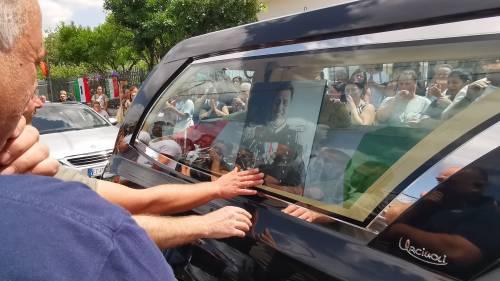 Carabiniere ucciso a Roma, l'ultimo saluto a Somma Vesuviana 4