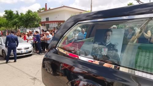 Carabiniere ucciso a Roma, l'ultimo saluto a Somma Vesuviana 5