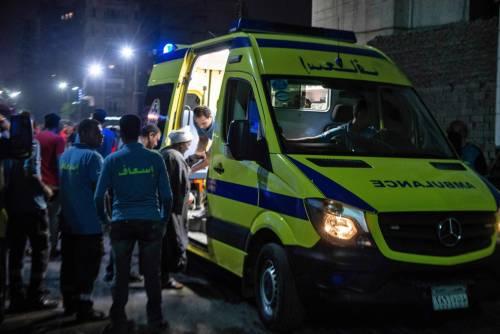 L'attentato contro l'istituto nazionale per il cancro a Il Cairo 5
