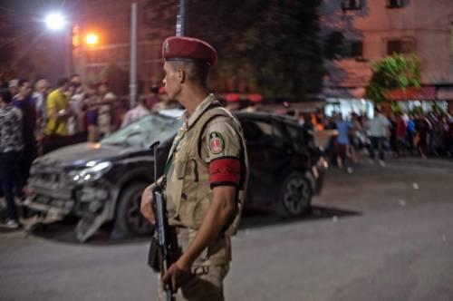 L'attentato contro l'istituto nazionale per il cancro a Il Cairo 6