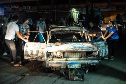 L'attentato contro l'istituto nazionale per il cancro a Il Cairo 7