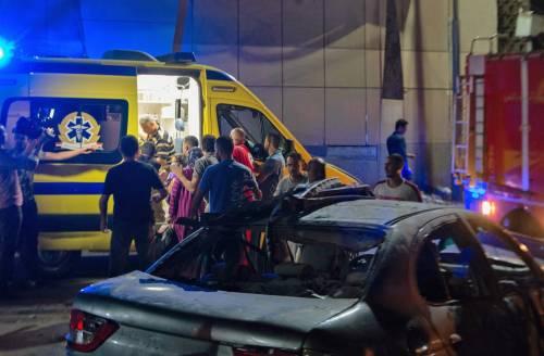 L'attentato contro l'istituto nazionale per il cancro a Il Cairo 9